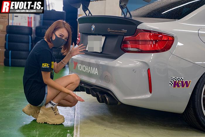 20201101_橋本コーポレーション_KWサスペンション_BMW_F87_モデルai_06