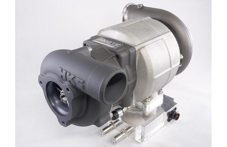 20210611_HKS_増速機付き電動過給機(スーパーチャージャー)