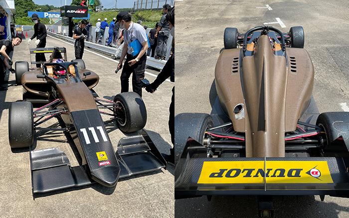 20210728_JMIA日本自動車レース工業会_Jsae_BCOMP_天然繊維プリプレグ_フォーミュラリージョナル_童夢_F1113_01