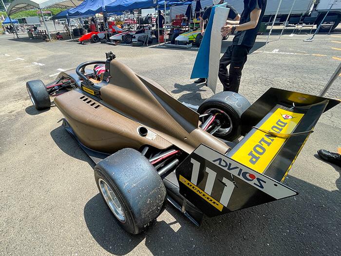 20210728_JMIA日本自動車レース工業会_Jsae_BCOMP_天然繊維プリプレグ_フォーミュラリージョナル_童夢_F1113_02